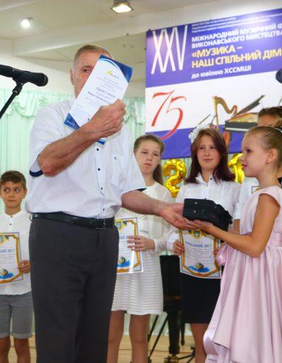 Мишель-Анастасия Соловьева - 1 место Международного конкурса Con Anima.