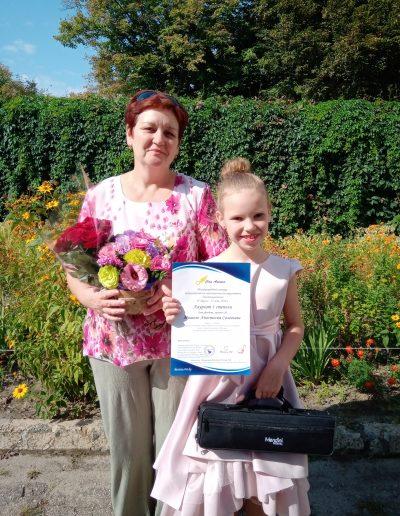 Мишель-Анастасия Соловьева - Победитель Международного интернет конкурса Con Anima