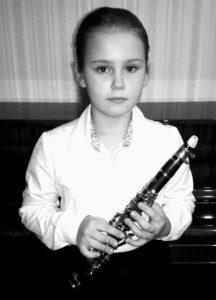 Тригубкина Софья, кларнет, А, 3 место
